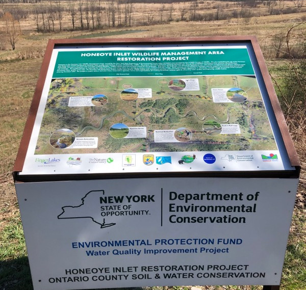 Inlet Project Sign
