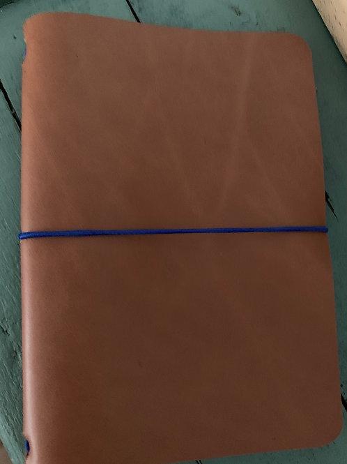 Copie de Book cuir Camel A6