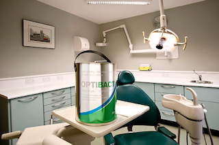 OPTIBACT Dental surgery use