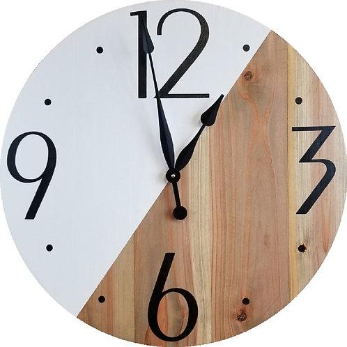 Skylar Farmhouse Wall Clock