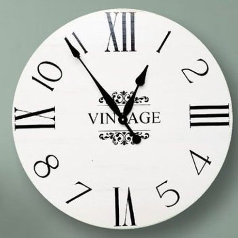 Starlet Farmhouse Wall Clock