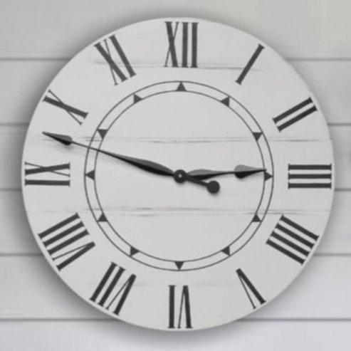 Sidney Farmhouse Wall Clock