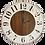 Thumbnail: Grace FarmhouseWall Clock