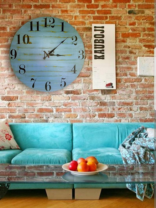 The Ami Farmhouse Wall Clock