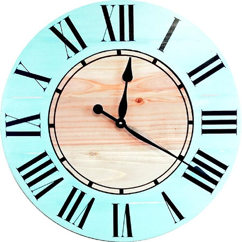 Luna Farmhouse Wall Clock