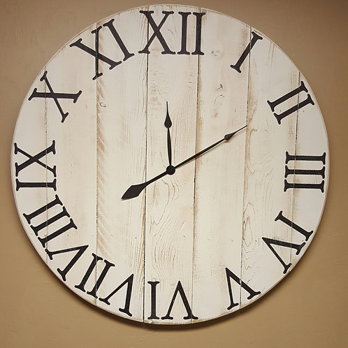 The Spencer Farmhouse Wall Clock