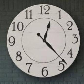 Fiona Farmhouse Wall Clock