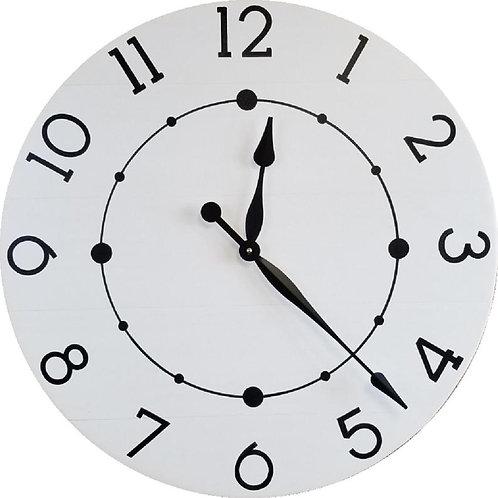 Mia Farmhouse Wall Clock