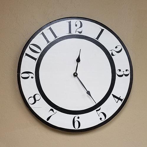 The Tyler Farmhouse Wall Clock