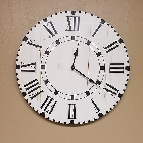 The Parker Farmhouse Wall Clock