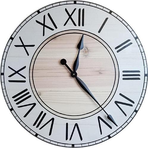 Ariana Farmhouse Wall Clock