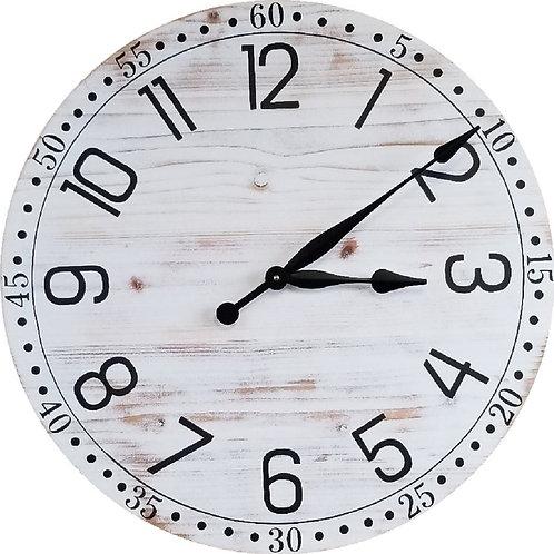 Aria Farmhouse Wall Clock
