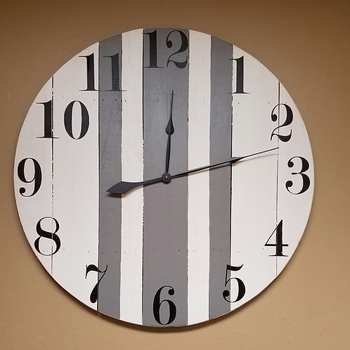 The Margo Farmhouse Wall Clock