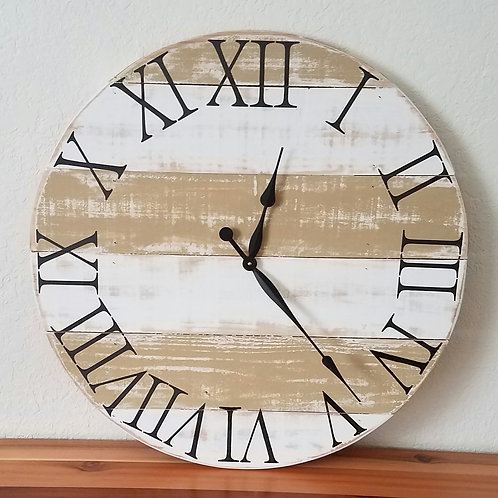 The Courtney Farmhouse Wall Clock