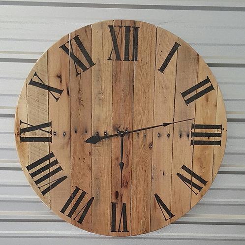 The Natural Classic Farmhouse Wall Clock