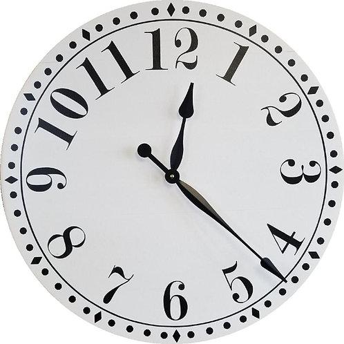 Gabriella Farmhouse Wall Clock