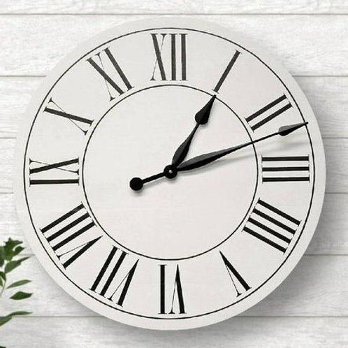 Ashlyn Farmhouse Wall Clock