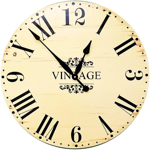 Mila Farmhouse Wall Clock