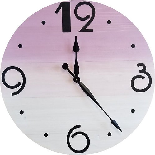 Scarlett Farmhouse Wall Clock