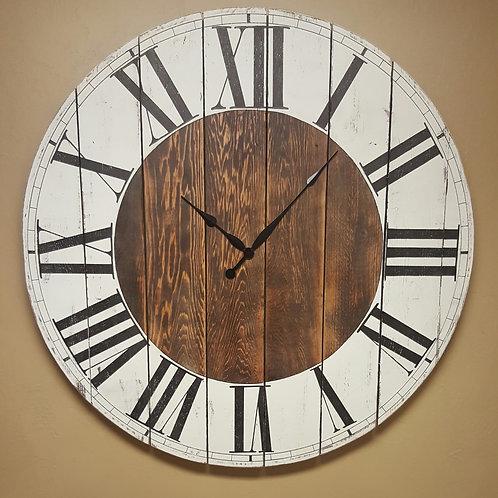 The Abigail Farmhouse Wall Clock