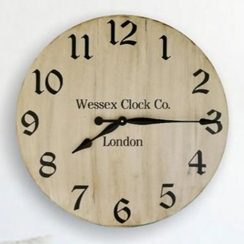 Alfred Farmhouse Wall Clock