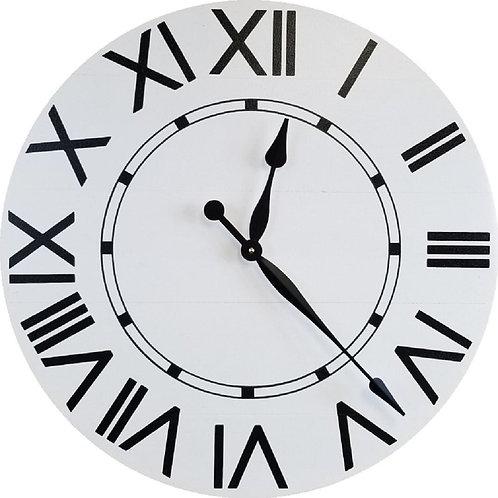 Amelia Farmhouse Wall Clock