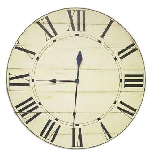 Clementine Farmhouse Wall Clock