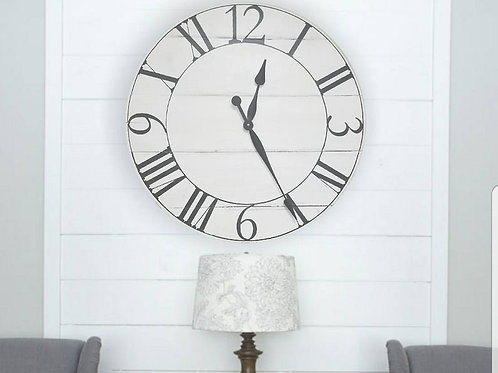The Russell Farmhouse Wall Clock