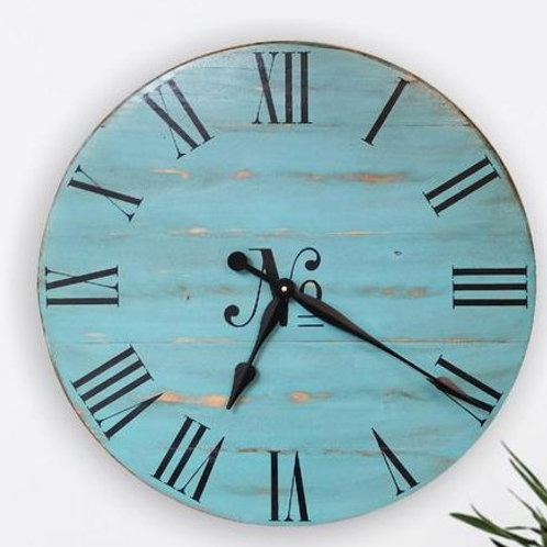 Maryann Farmhouse Wall Clock