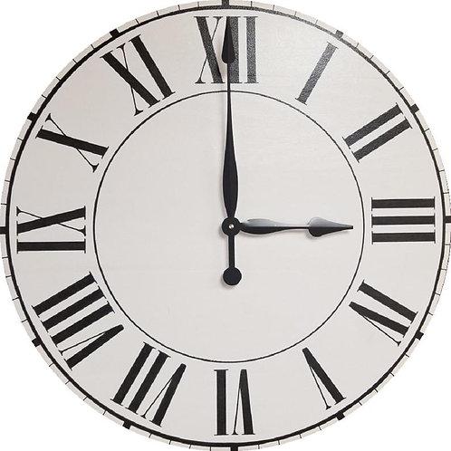 Quinn Farmhouse Wall Clock