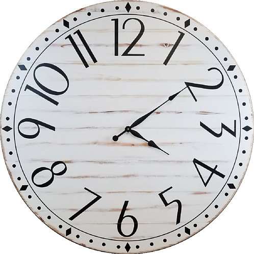 Reagan Farmhouse Wall Clock