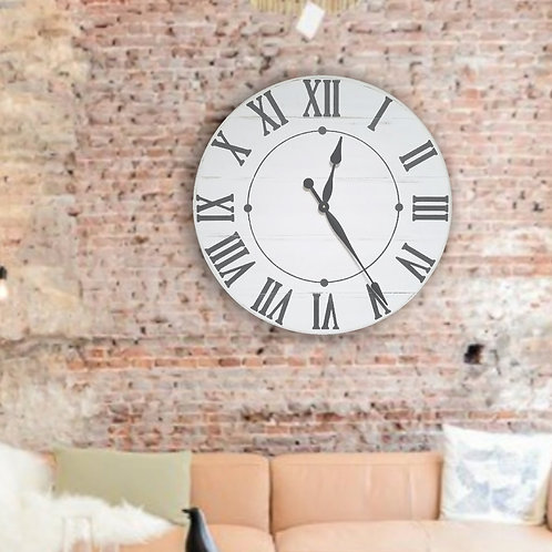 The Maisey Farmhouse Wall Clock