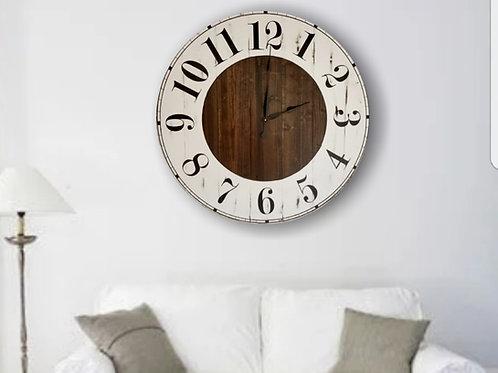 Grace FarmhouseWall Clock