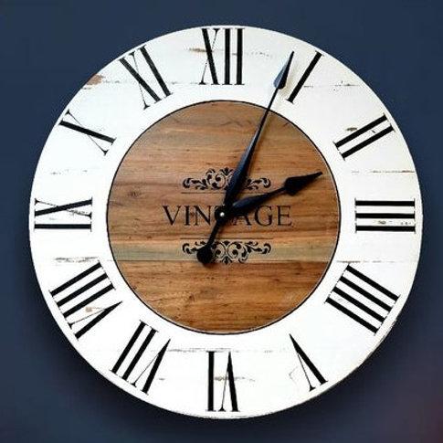 Valentina Farmhouse Wall Clock