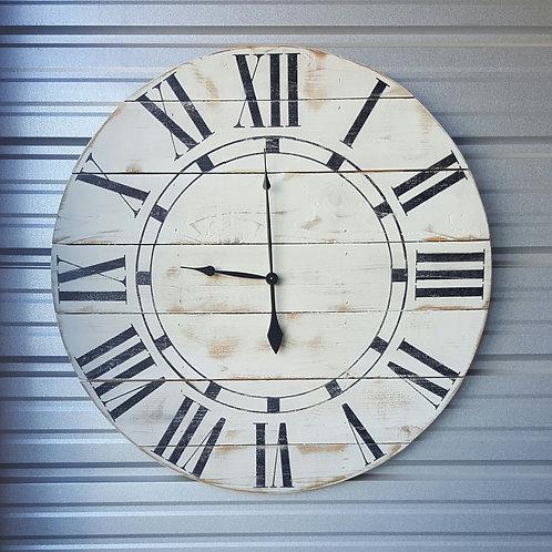 The Riley Farmhouse Wall Clock