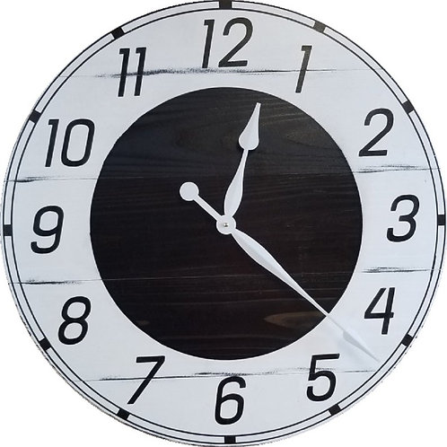 Audrey Farmhouse Wall Clock