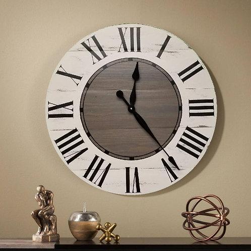 Tovie Farmhouse Wall Clock