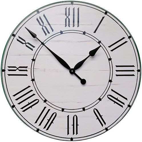 Isa Farmhouse Wall Clock