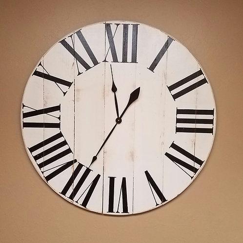 The Oversized Classic Farmhouse Wall Clock