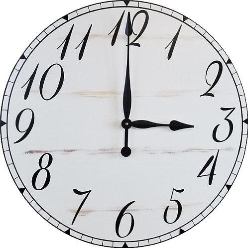 Avery Farmhouse Wall Clock
