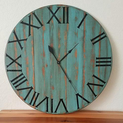 The Mallory Farmhouse Wall Clock