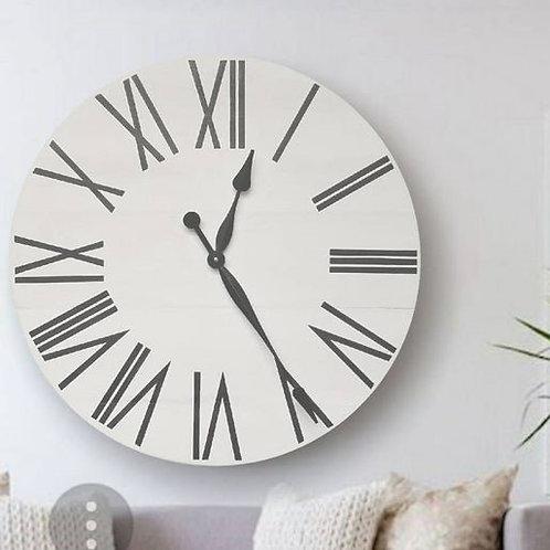 Stella Farmhouse Wall Clock