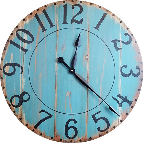 Kelsey Farmhouse Wall Clock