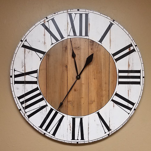 The Adeline Farmhouse Wall Clock
