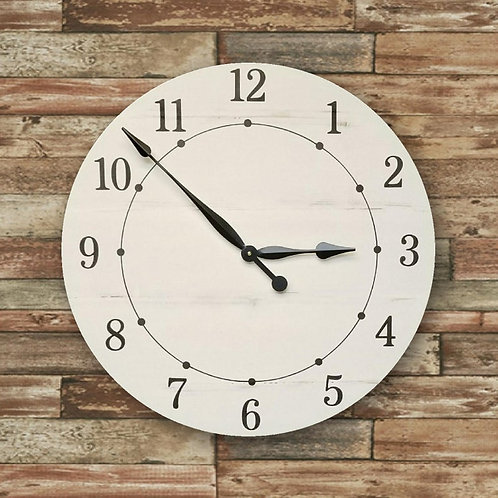 Olivia Farmhouse Wall Clock