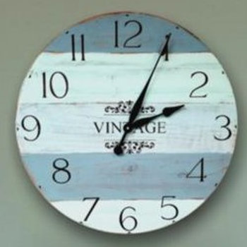 Galveston Farmhouse Wall Clock