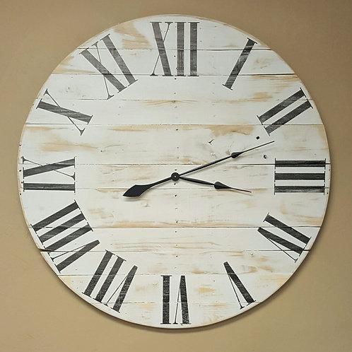 The Horizontal Classic Farmhouse Wall Clock