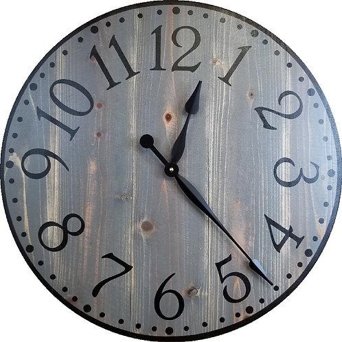 Brooklyn Farmhouse Wall Clock