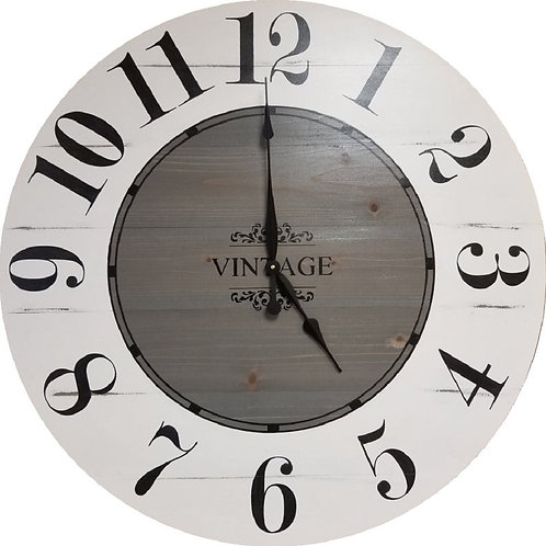 Hailey Farmhouse Wall Clock