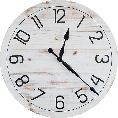 Layla Farmhouse Wall Clock